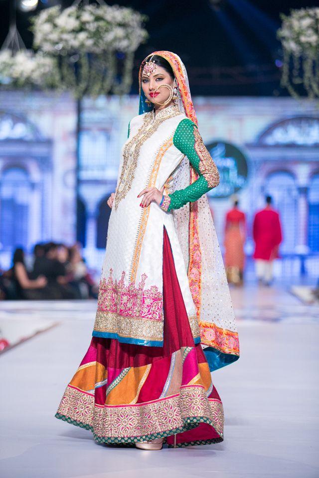 Nomi Ansari Bridal Collection at PBCW 2014 Day 1