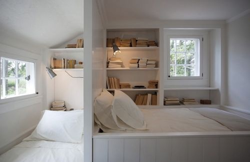 river road cottage bedroom. this is so lovely and serene.