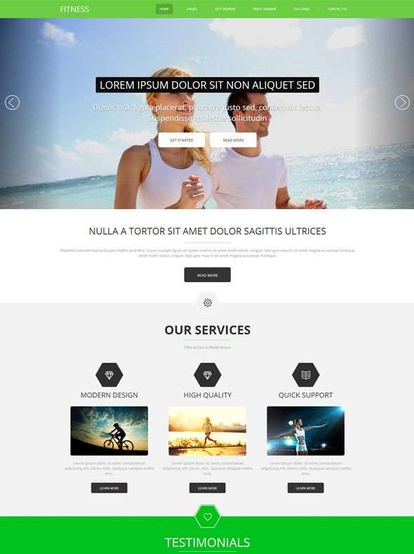 11 best 11 More of the Best Gym \ Fitness WordPress Themes images - fitness templates free