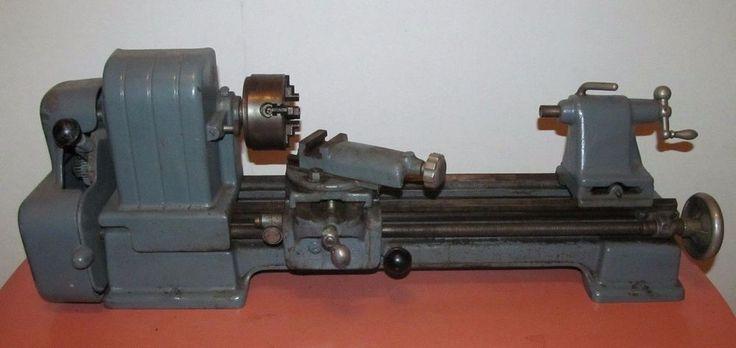 Vintage Sears Craftsman 109.20630 Benchtop Metal Mini-Lathe Hobby  | Business & Industrial, Manufacturing & Metalworking, Metalworking Tooling | eBay!