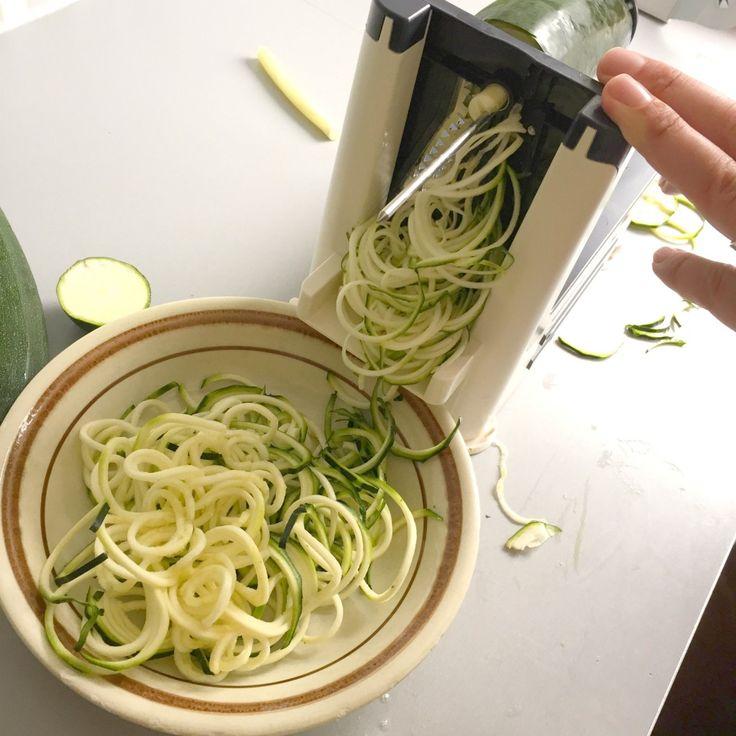 Zo maak je courgette pasta
