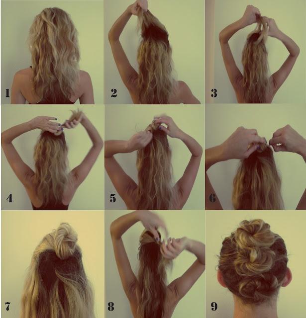 Messy Bun Mohawk TutorialHair Ideas, Beautiful Clips, Hair Tutorials, Diy Hair, Messy Buns, Hair Style, Buns Mohawks, Pretty Hair, Mohawks Tutorials