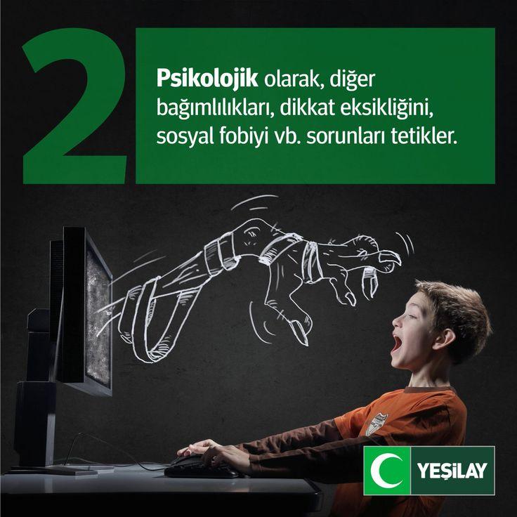 Teknoloji bağımlılığı, fiziksel, psikolojik, sosyal ve zihinsel açıdan bir çok zarar verebilir!