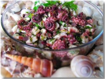 Croatian Style Octopus Salad