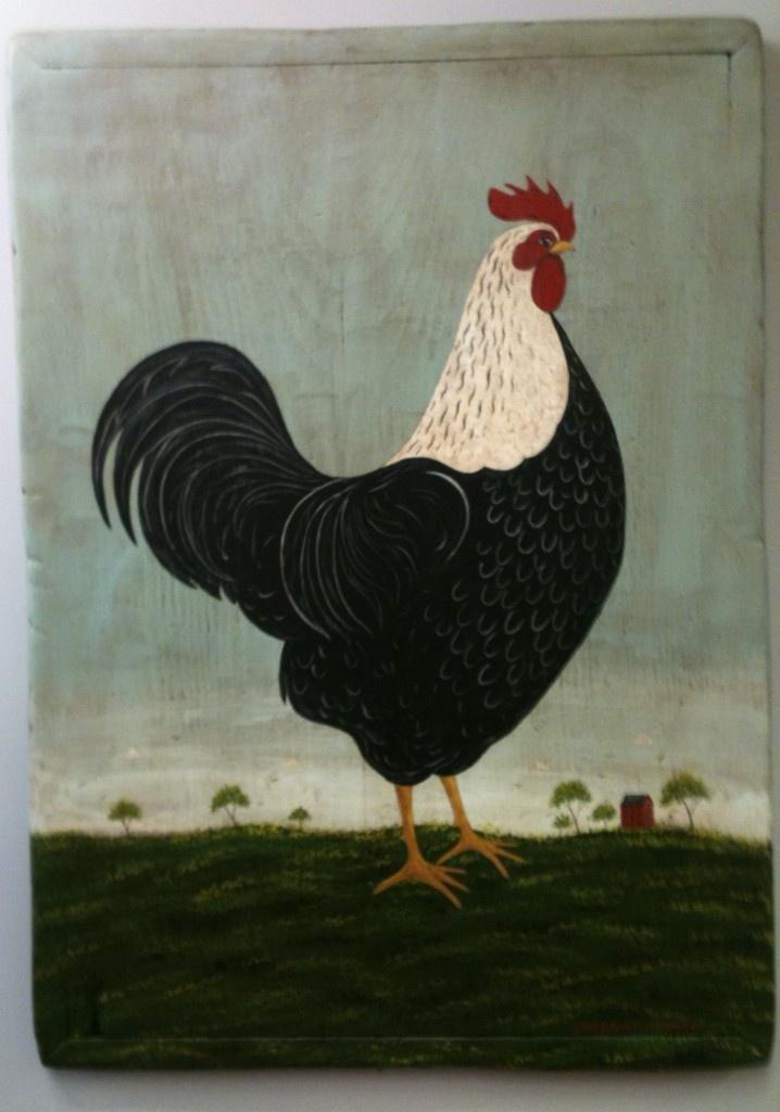 Warren Kimble, Rooster