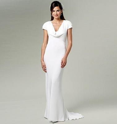Replica Pippa Middleton Bridesmaid Dress bought this pattern as the basis of my dress