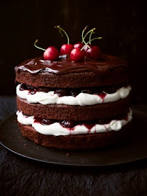Black Forest GateauDesserts, Chocolates Cake, Forests Gateau, Sweets, Trifles, Food, Black Forests Cake, Baking, Blackforest