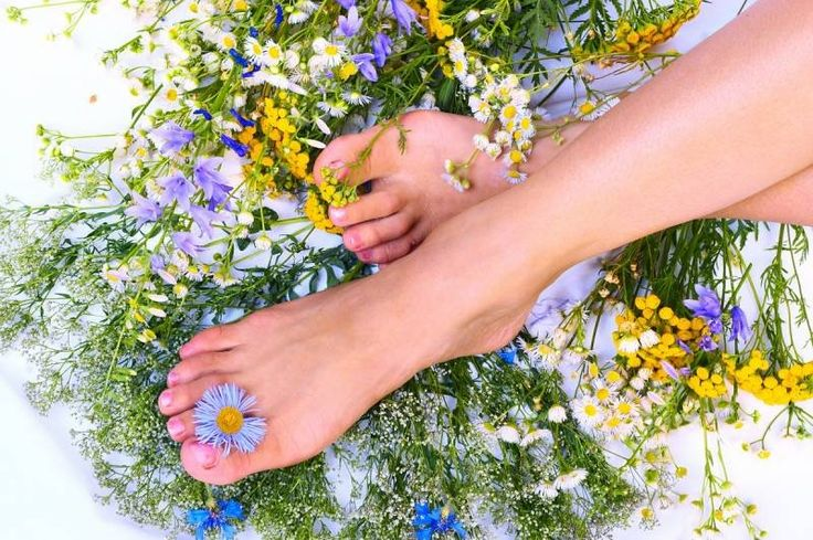 Уход за ногами и ступнями
