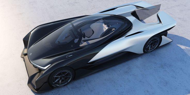 Faraday Future представит свой первый автомобиль на CES 2017