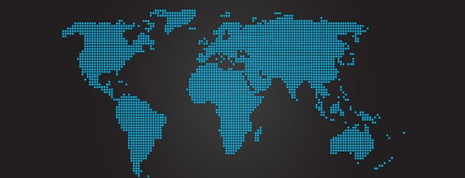 Vector world map free download