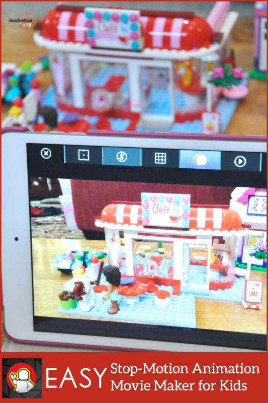how to make a stop motion video with ipad