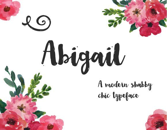 Abigail by Emily Spadoni on @creativemarket