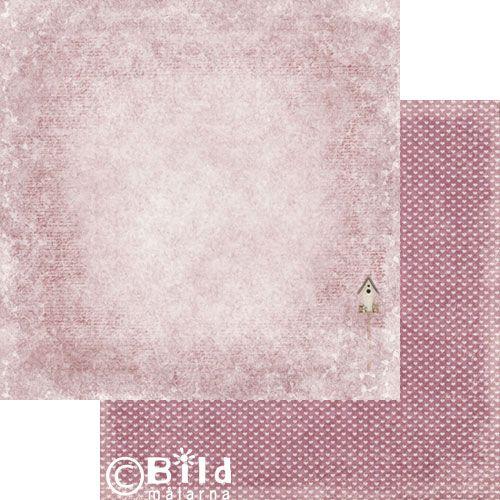 Bildmalarna - Fiori di Primavera - Dusty Sky Rosa