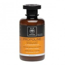 PROPOLINE Shine and Revitalizing Shampoo with citrus & honey. #Shine #Revitalization #Toning #Protection # Lifeless, thin, difficult to comb hair, without motion and vividness, is a common problem that needs specialized treatment. The Shine and Revitalizing Shampoo helps hair recover its lost shine, offers energy and toning and protects it from the adverse effects of the environment and split ends. Read more at www.apivita.com