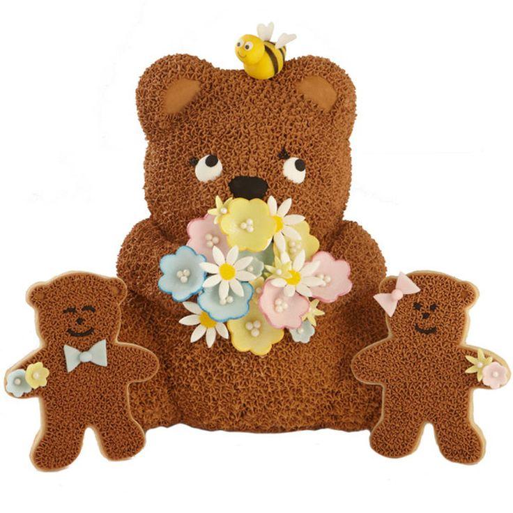 68 Best Wilton Bear Cake Stand Images On Pinterest Bear