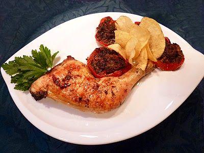 Cuisses de poulet à la provençale #recette #recipe