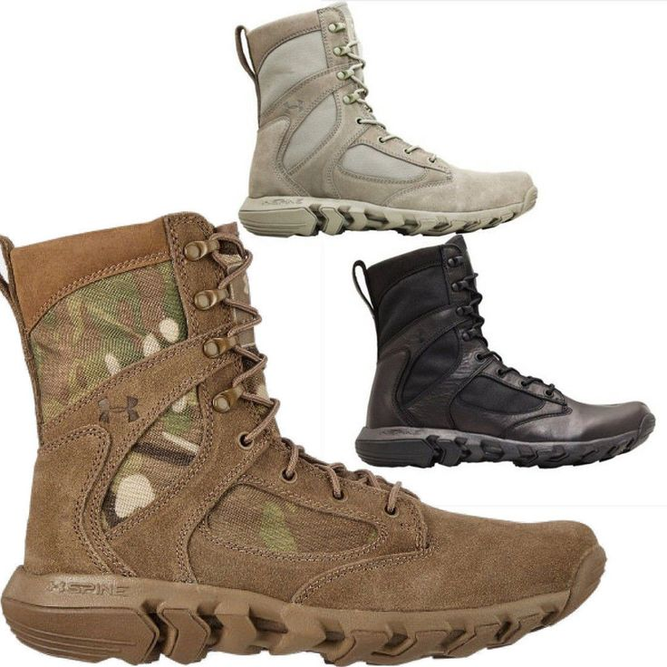 Under Armour Alegent Tactical Duty Boots - Men's Military Style Hunting Boots
