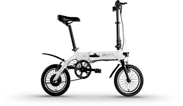 "Aluminum Frame Hybrid Folding Electric Bicycle 14"" 36V, 6.6Ah.  Riding a bicycle doesn't have to be strenuous work anymore. With Hybrid Electric Folding Bike you can travel to your destination either by pedaling or by using its expertly constru..."
