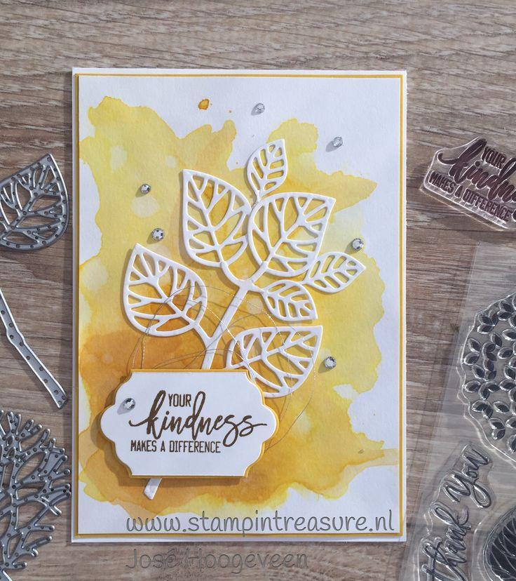 Thoughtful Branches, Stampin Up, stampin Treasure, water color, koop Stampin Up, sneak peek