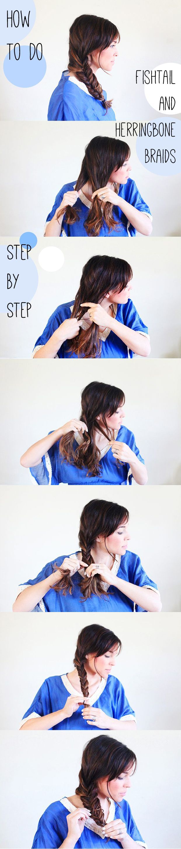 A simple way to master the beautiful and chic fishtail braid: http://www.ehow.com/how_11399860_fishtail-herringbone-braids-step-step.html?utm_source=pinterest.com&utm_medium=referral&utm_content=inline&utm_campaign=fanpage