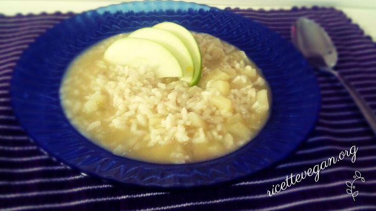 Risotto alla mela Verde | Ricette Vegan