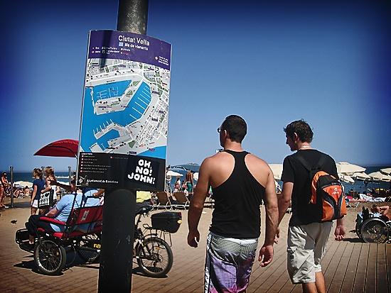 Sun in Barceloneta beach!  barcelona barceloneta spain beach sun summer