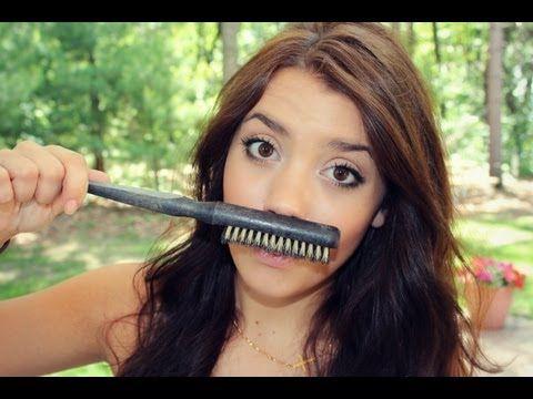 She's good! Definitely my favorite hair tutorial girl! This is how people should tease their hair!