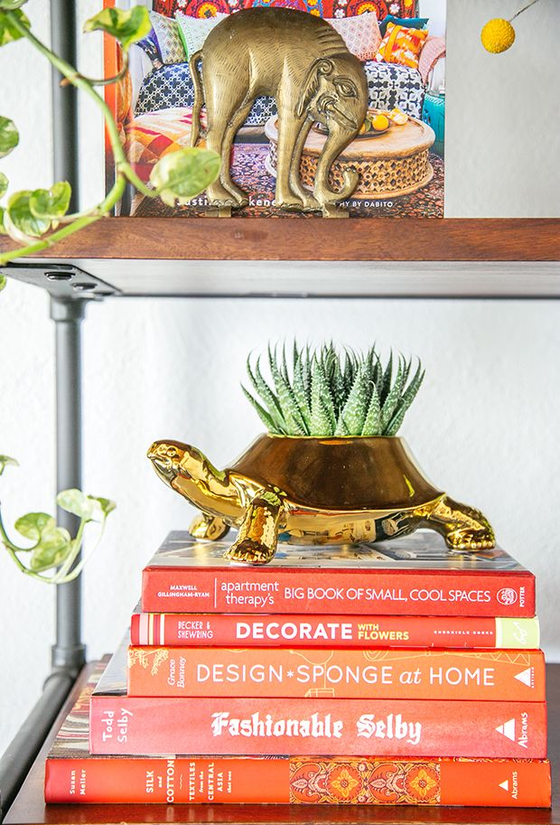 How To Style Shelves with Personality | The Jungalow #TargetStyle @Targetstyle