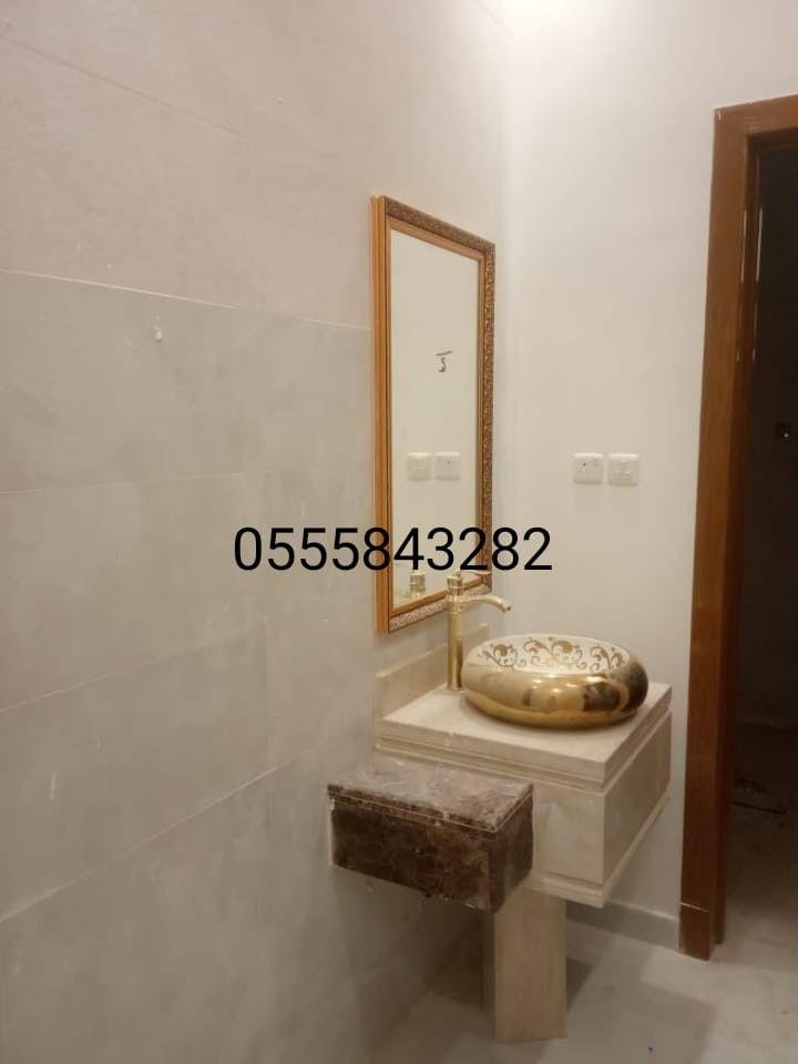 مغاسل رخام حمامات دائرية Decor Home Decor Oversized Mirror