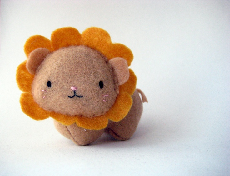 Small Gold Lizzie, the Giggly Lion.