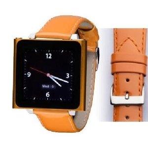 Wrist Jockey Fashionista - Orange Patent Leather (iPod nano watch band) (Electronics) #iPod