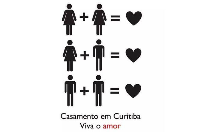 Prefeitura de Curitiba no Facebook – ~zuera~ pode, mas casamento gay nao?