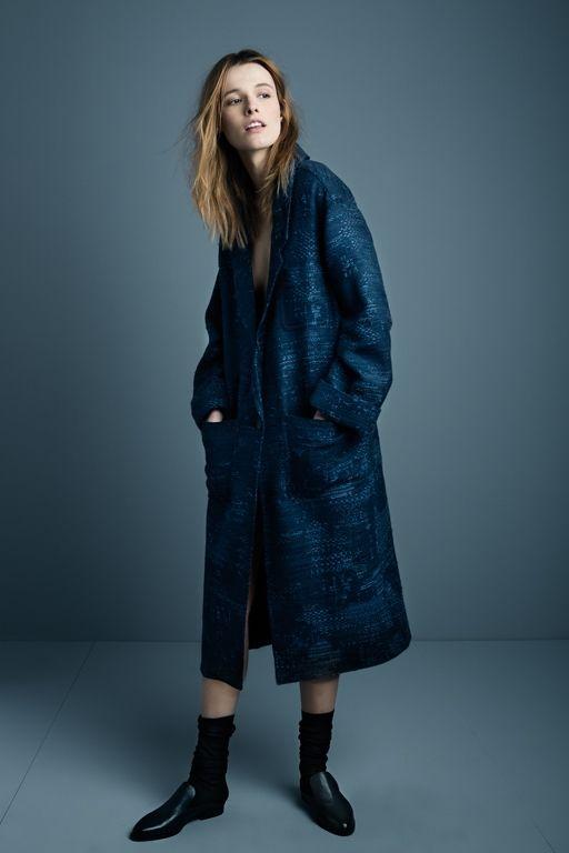 Smythe Duster+Coat+in+indigo