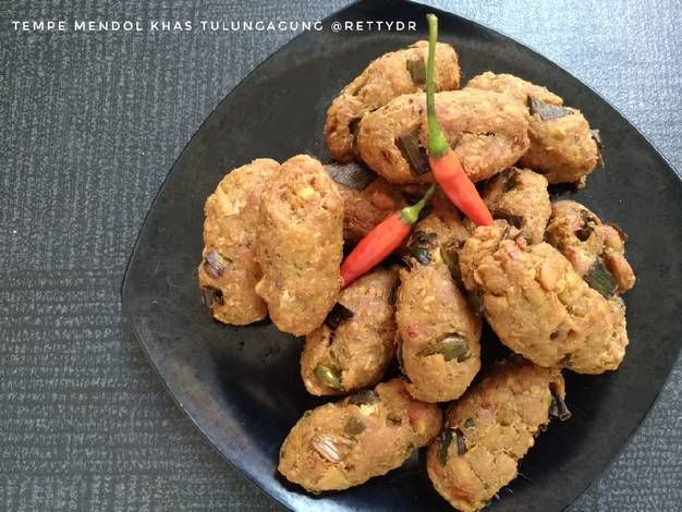 Resep Tempe Mendol Khas Tulungagung Oleh Cooking With Retty Resep Memasak Resep Tempe Makanan Olahan