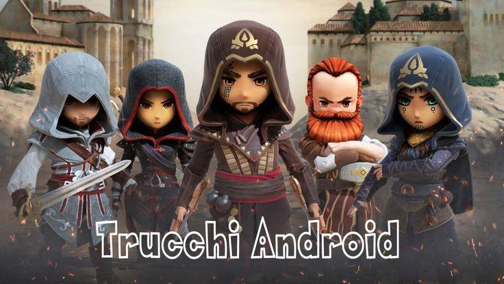 Come avere soldi infiniti per acquisti liberi e illimitati nel gioco android Assassin's Creed Rebellion. Trucchi Assassin's Creed Rebellion.