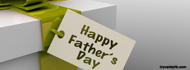 Fathers Day Present Facebook Cover