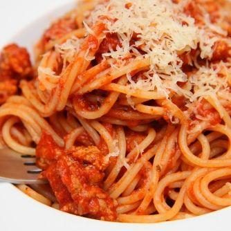 Bolognai spagetti (Spaghetti Bolognese)