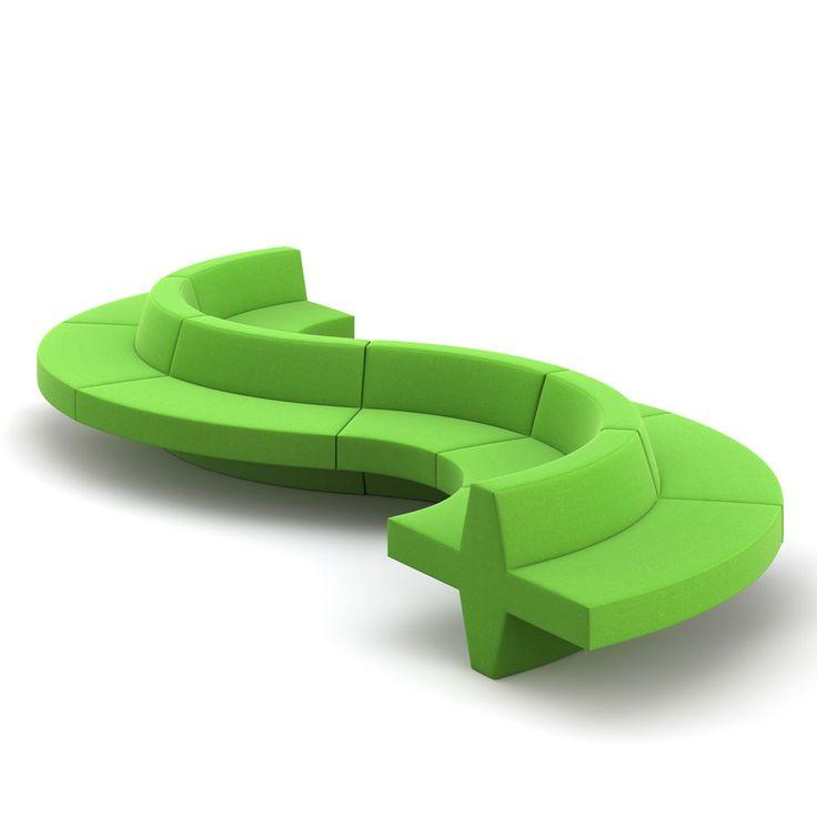 Modular sofa seatings for large lounge areas