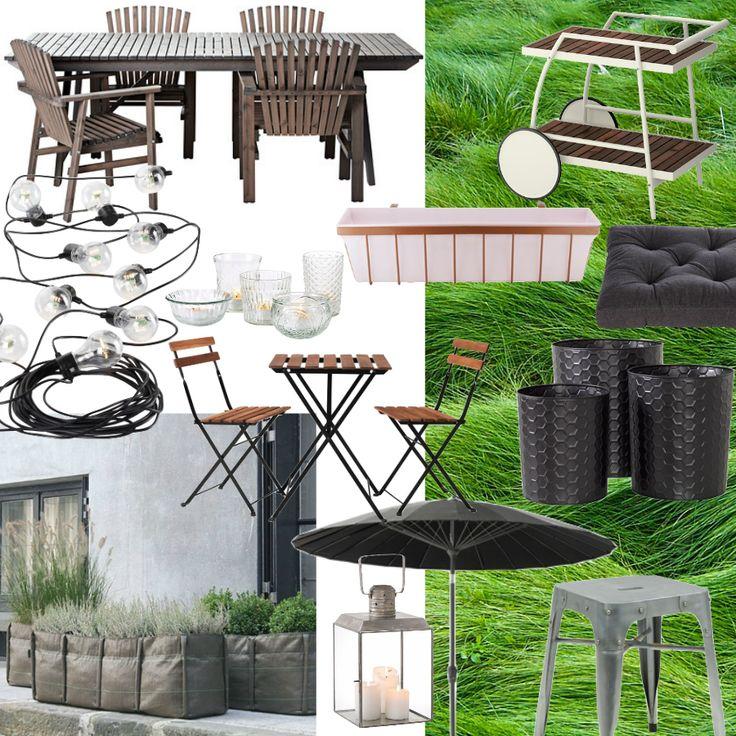 Inspiration: have, gård, altan, terrasse