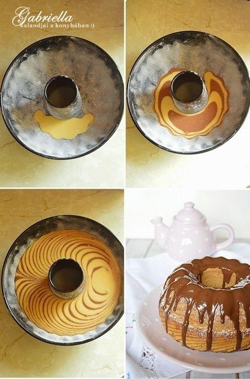 Gabriella kalandjai a konyhában :): Csokis zebra sütemény