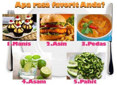 Rasa Makanan Favorit Anda Dapat Mengungkapkan Kepribadian Anda