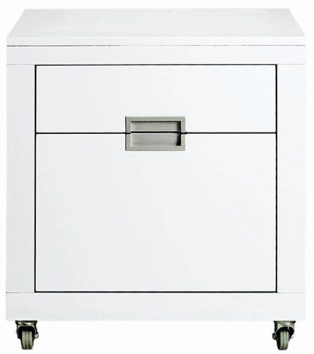 Parsons Ii File Cabinet 23 Hx21 Wx17 D White By Home