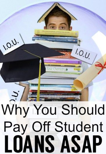 why pay off student loans pin