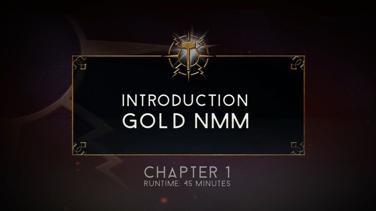Age of Sigmar - Stormcast Eternal - Chapter 1 - Gold NMM  & Introduction