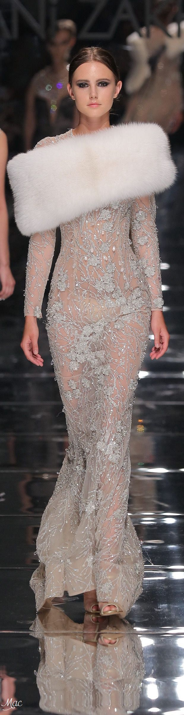 Rosamaria G Frangini | High Chic Fashion | MM&Co | Fall 2016 Haute Couture - Rani Zakhem