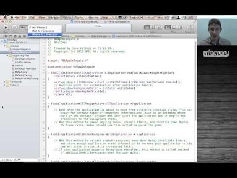 App!képzés - iOS mobilalkalmazás-fejlesztés   iOS fejlesztési és Objective-C alapismeretek (1. rész) - YouTube