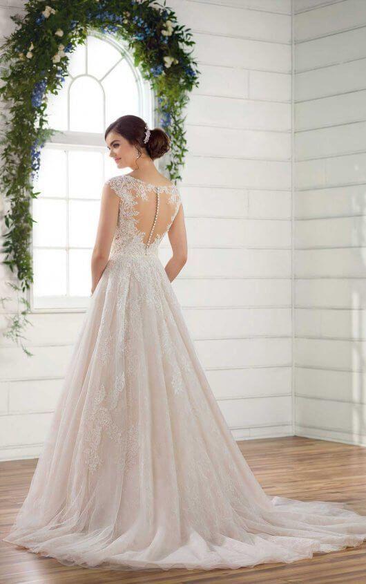 D2347 Vintage A-Line Brautkleid von Essense of Australia – Brautkleider – # …   – Hochzeitskleider