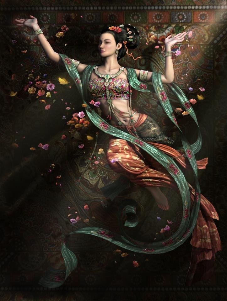 Kuan Yin, Os fieis de origem chinesa geralmente aceitam que Guanyin se originou com o Avalokiteśvara (अवलोकितेश्वर) sânscrito, sua forma masculina. Comumente conhecida nos idiomas ocidentais como Deusa da Misericórdia,1 Guanyin não é cultuada pelos taoístas chineses como um dos Oito Imortais; na mitologia taoísta, no entanto, possui histórias relacionadas à sua origem que não são relacionadas diretamente a Avalokiteśvara.