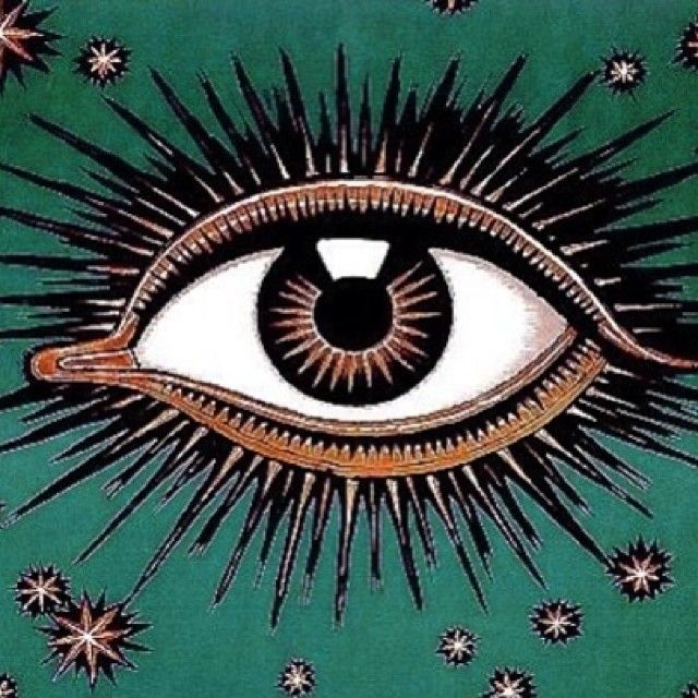 I frequently see an eye when I meditate. No idea why.