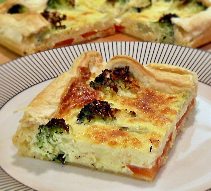 Tofu Quiche With Broccoli Recipes — Dishmaps
